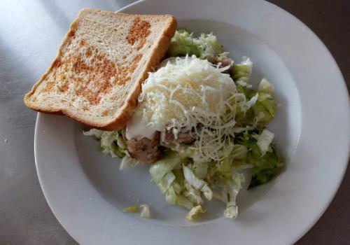 Caesar salát se sumečkem africkým 14.2.2019