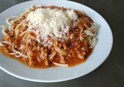 Špagety po boloňsku (4.10.2019)